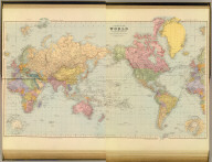 (Composite of) A chart of the world on Mercator's projection. Shewing the principal ocean steam routes, the submarine telegraphs &c. London atlas series. London: Stanford's Geographical Establishment. London : Edward Stanford, 12, 13 & 14, Long Acre, W.C. (1901)