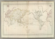 Map of the World, or General Chart of the Known Parts of the Globe, Illustrating the Voyage of La Perouse in 1785, 1786, 1787 & 1788. Engraved by S. J. Neele, 352 Strand. Published as the Act directs, Novr. 1, 1798, by G.G. & J. Robinsons, Pater noster Row. No. 1.