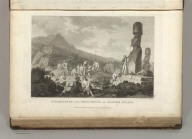 Inhabitants and Monuments of Easter Island. Published as the Act directs Novr. 1st 1798, by G.G. & J. Robinson, Pater Noster Row. de Vancy, delt. Heath sculpt. No. 11.