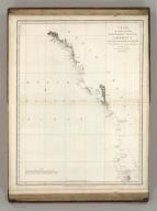 Chart of Part of the North West Coast of America Explored by the Boussole & Astrolabe laid down conformally to the position of the Boussole every day at noon as determinined Astronomically by Mr. Dagelet. Published as the Act directs Novr. 1st 1798, by G.G. & J. Robinson, Paternoster Row. S. Neele, sculpt, Strand. No. 16.