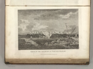 Wreck of the Two Boats at Port des Francais. Published as the Act directs Novr. 1st 1798, by G.G. & J. Robinson, Paternoster Row, London. Ozanne delt. Heath, sculpt. No. 25.