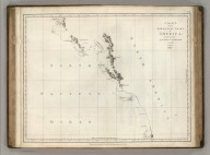 Chart of the North West Coast of America. Explored by the Boussole & Astrolabe in 1786. 2nd. Sheet. Published as the Act directs Novr. 1st 1798, by G.G. & J. Robinson, Paternoster Row, London. Neele sc. Strand. No. 29.