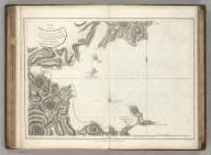 Plan of the Baie de Castries, on the Eastern Coast of Tartary ... by Sen. Bernizet, under the Inspection of Mr. de la Perouse. Published as the Act directs Novr. 1st 1798, by G.G. & J. Robinson, Paternoster Row: London. Engraved by S. Neele sculpt. 352 Strand. No. 52.