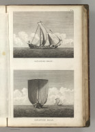(Two views). Japanese Boat(s). Published as the Act directs Novr. 1st 1798, by G.G. & J. Robinson, Pater Noster Row, London. Blondela del. Heath sculpt. No. 59.