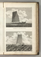 (Two views). Champan, a Chinese Boat. Boat of Formosa. Published as the Act directs Novr. 1st 1798, by G.G. & J. Robinson, Pater Noster Row, London. Blondela del. Heath sculpt. No. 60.