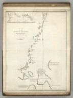 Plan of the Kurile Islands and Lands Little Known Situate in their Vicinity, from a Manuscript Chart in the Archives of Ochotsk, communicated to Mr. Lesseps in 1788. Published as the Act directs Novr. 1st ,1798, by G.G. & J. Robinson, Paternoster Row. Neele Sculpt., Strand. No. 69.