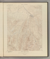Aspen Atlas Sheet. Sheet IV Topography. U. S. Geological Survey, Charles D. Walcott, Director. Monograph XXXI. A.H. Thompson, Geographer. F.M. Douglas, Topographer in charge. Triangulation by E.M. Douglas. Topography by R.C. McKinney. Surveyed in 1893. Julius Bien & Co. Lith. N.Y. (1898)