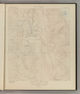 Tourtelotte Park Special. Sheet XI Topography. U. S. Geological Survey, Charles D. Walcott, Director. Monograph XXXI. A.H. Thompson, Geographer. Morris Bien, Topographer in charge. Triangulation by Morris Bien. Topography by F.F. Grove. Surveyed in 1891. Julius Bien & Co. Lith. N.Y. (1898)