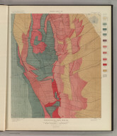 Tourtelotte Park Special. Geology Sheet XII. U. S. Geological Survey, Charles D. Walcott, Director. Monograph XXXI. A.H. Thompson, Geographer. Morris Bien, Topographer in charge. Triangulation by Morris Bien. Topography by F.F. Grove. Surveyed in 1891. S.F. Emmons, Geologist in charge. Geology by J.E. Spurr. Assistant, G.W. Tower. Julius Bien & Co. Lith. N.Y. (1898)