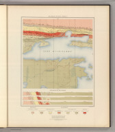 Detailed Geology Sheet V. (T 48 N, R 30 W, SW Quarter). Julius Bien & Co. Lith. N.Y.