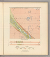 Detailed Geology Sheet X. (T 47 N, R 30 W, SE Quarter). Julius Bien & Co. Lith. N.Y.