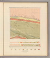 Detailed Geology Sheet XII. (T 48 N, R 29 W, SW Quarter). Julius Bien & Co. Lith. N.Y.
