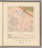 Detailed Geology Sheet XIII. (T 47 N, R 29 W, NW Quarter). Julius Bien & Co. Lith. N.Y.