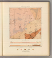 Detailed Geology Sheet XXI. (T 48 N, R 28 W, SE Quarter). Julius Bien & Co. Lith. N.Y.