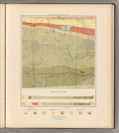 Detailed Geology Sheet XXII. (T 47 N, R 28 W, NE Quarter). Julius Bien & Co. Lith. N.Y.