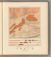 Detailed Geology Sheet XXIV. (T 48 N, R 27 W, SW Quarter). Julius Bien & Co. Lith. N.Y.