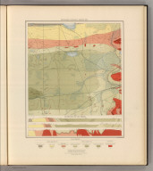 Detailed Geology Sheet XXV. (T 47 N, R 27 W), NW Quarter. Julius Bien & Co. Lith. N.Y.