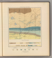 Detailed Geology Sheet XXXIII. (T 48 N, R 26 W, SE Quarter). Julius Bien & Co. Lith. N.Y.