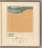 Detailed Geology Sheet XXXIX. (T 47 N, R 25 W, NE Quarter). Julius Bien & Co. Lith. N.Y.