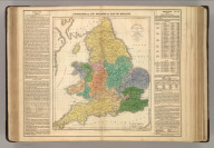 Geographical and Statistical Map of England. England & Wales, Divided into Circuits & Counties, with the Principal High Roads. For the Elucidation of Lavoisne's Genealogical, Historical, Chronological, & Geographical Atlas. By J. Aspin, 1820. No. 29. Published by M. Carey & Son, Philada., 1820. Kneass, Young & Co., Sc. Philadelphia, 1820 - Printed by T.H. Palmer, for M. Carey & Son, from the London edition of 1817, with corrections and additions.