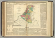 Geographical, Statistical, and Historical Map of the Netherlands. Map of the Netherlands, Drawn from the Best Authortities for the Elucidation of Lavoise's Historical Atlas by E. Paguenaud. Philadelphia. 1820. No. 51. Published by M. Carey & Son. J. Yeager, Sc. Philadelphia, 1820 - Printed by T.H. Palmer, for M. Carey & Son, from the London edition of 1817, with corrections and additions.