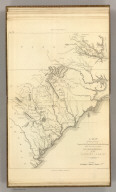 A Map of those parts of Virginia, North Carolina, South Carolina, & Georgia, which were the scenes of the most important Operations of the Southern Armies. Compiled by S. Lewis. Engraved for the Life of Washington. Plate VIII. Engraved by Francis Shallus. Published by C.P. Wayne. Philadelphia. (1807)