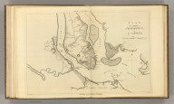 Plan of the Siege of Charleston in S. Carolina. Engraved for Washington's Life. Plate X. Drawn by S. Lewis. Tanner, Sc. Published by C.P. Wayne. Philadelphia. (1807)