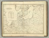 Part of North of Europe. (1824)