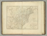 Map of the United States of America. Designed to Illustrate the Geological Memoir of Wm. Maclure Esqr. Entered as the Act directs, and Published by John Melish, Philadelphia. Transactions American Philosophical Society Vol. 1 New Series. (1824)