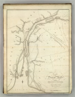 Map of Detroit River and Adjacent Country. Fro the Original Drawing by a British Engineer. H.S. Tanner. Entered as the Act Directs. (1824)