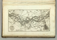 Map of the Course fo the Rhine, in the Environs of Strasbourg Showing the Passage of the Rhine effected by the Army of the Rhine & Moselle. & of the Operations at the Siege of Kehl. J. Bower, Sc. (1824)
