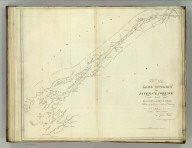 East End of Lake Ontario and River St. Lawrence from Kingston to French Mills. Reduced from an Original Drawing in the Naval Department by John Melish. H.S. Tanner, Sc. (1824)