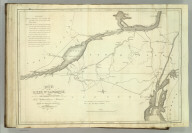 Map of the St. Lawrence and Adjacent Country from Williamsburg to Montreal from an Original Drawing in the War Department. John Melish, del. H.S. Tanner, sc. (1824)
