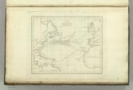 Chart of the Atlantic Ocean. John Melish, del. Thackara Sculp. (1824)