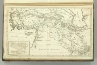 Sketch of the Countries Situated between Shiraz and Constantinople, Shewing the Route of His Majesty's Mission under Sir Harford Jones Bart. in 1809, from Bushire to Teheran, and of Mr. Morier from thence to Constantinople. As also the Route of Col. Malcolm in 1801. By J. Rennell. J. Bower, Sc. (1824)