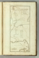 Bonaparte's Route from Elba to Paris, From 26 Febry. to 20th March 1815. (1824)