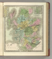 Scotland. (with) two inset maps: Shetland Isles and Orkney Isles.