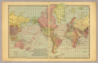 World. Rand-McNally's New 14 x 21 Map of the World. Copyright by Rand-McNally & Co. 1913.
