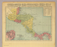 Central America. Copyright 1904 by Rand-McNally & Co. Copyright 1910 by Rand-McNally & Co.
