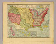 United States of America, 1900. Copyright 1900 by Rand-McNally & Co. Copyright 1904 by Rand-McNally & Co.