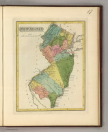 New Jersey. 17. H.S. Tanner, sc. (1816)