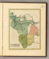 Upper Territories of the the United States. 30. H.S. Tanner, sc. (1816)
