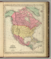 Map of North America. 2. Philadelphia, Published By Charles Desilver, No. 714 Chestnut Street. Entered according to Act of Congress in the year 1856 by Charles Desilver in the Clerk's office if the District Court of the Eastern District of Pennsylvania.