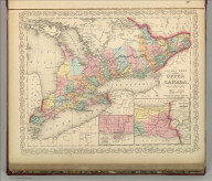 Canada West, formerly Upper Canada. Philadelphia, Published By Charles Desilver, No. 714 Chestnut Street. Entered according to Act of Congress in the year 1856 by Charles Desilver in the Clerk's office if the District Court of the Eastern District of Pennsylvania. 4.