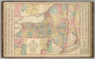 Map of New York Compiled from Latest Authorities. Philadelphia, Published By Charles Desilver, No. 714 Chestnut Street. Entered according to Act of Congress in the year 1856 by Charles Desilver in the Clerk's office if the District Court of the Eastern District of Pennsylvania. 12.