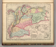 Venezuela, New Grenada & Equador. Entered according to Act of Congress in the year 1856 by Charles Desilver in the Clerk's office if the District Court of the Eastern District of Pennsylvania. 43.