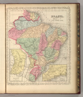 Brazil. Entered according to Act of Congress in the year 1856 by Charles Desilver in the Clerk's office if the District Court of the Eastern District of Pennsylvania. 44.
