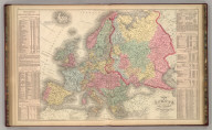 Map of Europe Compiled from the Latest Authorities. By J.H. Young. Philadelphia Published by Charles Desilver, No. 714 Chesnut Street. Entered according to Act of Congress in the year 1856 by Charles Desilver in the Clerk's office if the District Court of the Eastern District of Pennsylvania. 48.