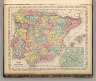 Spain and Portugal. Entered according to Act of Congress in the year 1856 by Charles Desilver in the Clerk's office if the District Court of the Eastern District of Pennsylvania. 53.