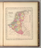 Holland and Belgium. Entered according to Act of Congress in the year 1856 by Charles Desilver in the Clerk's office if the District Court of the Eastern District of Pennsylvania. 54.